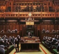 Parliament devolved of Banksy - € 11,000,000